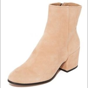NEW Dolce Vita Maude Suede Booties Blush